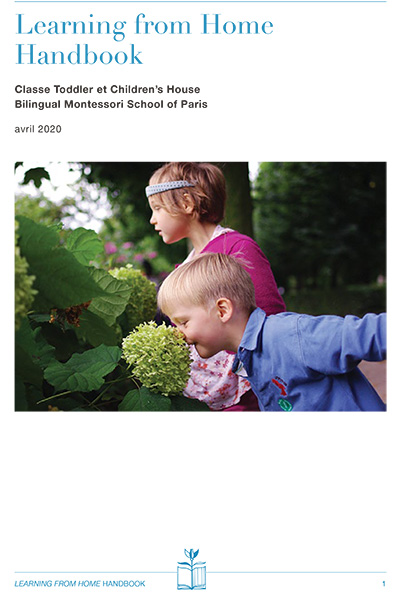 Learning from Home Handbook FRENCH cover